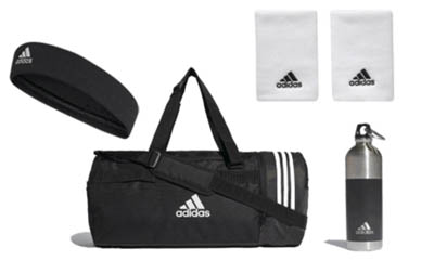 Free Adidas Bags and Water Bottles
