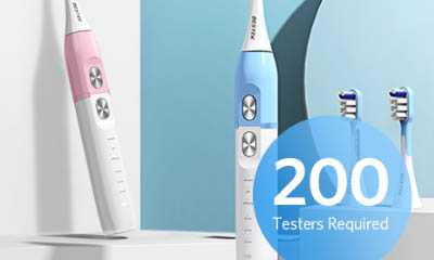 Free Bestek Electric Toothbrushes