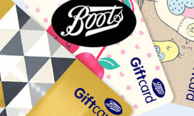 Free £10 Boots Gift Cards