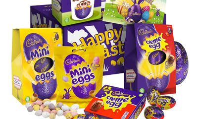 Free Cadbury Family Easter Egg Selection