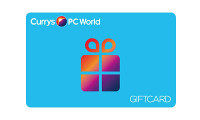 Win a £1,000 Currys PC World Gift Card
