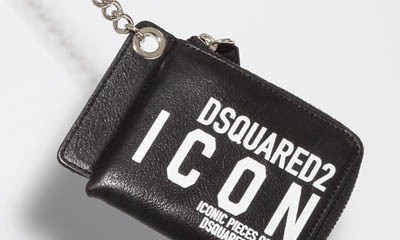 Win a Dsquared2 ICON Chain Wallet