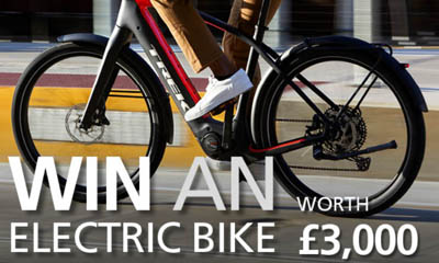 Win 1 of 2 Trek Electric Bikes worth £3,000