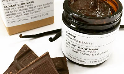 Free Evolve Radiant Glow Cacao & Coconut Face Mask