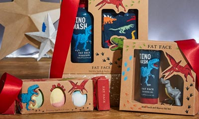 Win a Kids' Dinosaur Bath Time Gift Set