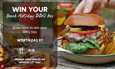 Win a Field and Flower BBQ Meat Box