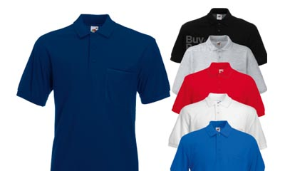 Free Fruit of the Loom Polo Shirt