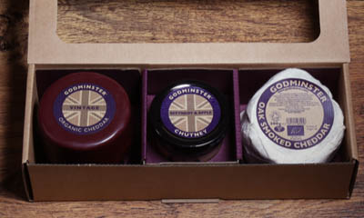 Win a Godminster Cheddar & Chutney Collections