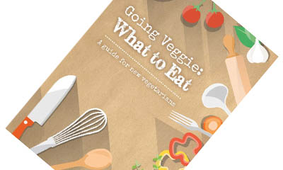 Free Going Veggie Book