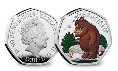 Win a Gruffalo and Mouse Silver Proof 50p