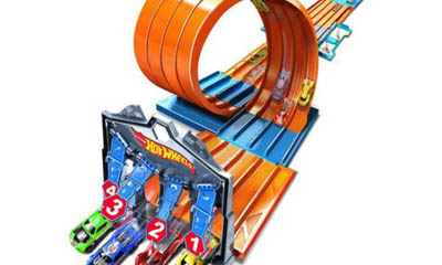 Free Hot Wheels Race Crate Toy from Argos