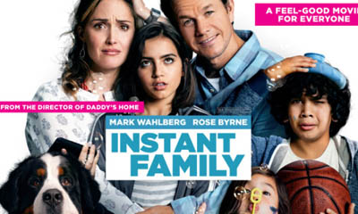Free 'Instant Family' Cinema Tickets
