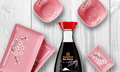 Win a Limited Edition Bottle and Sushi Dishes