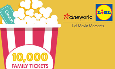Free Family Cineworld Cinema Tickets From Lidl