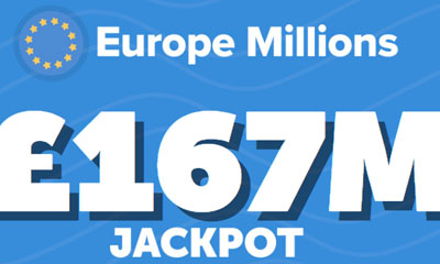 55 Free Syndicate Tickets £167M Jackpot!