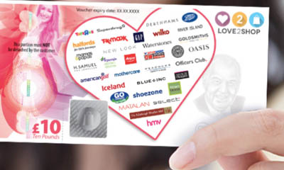 Free Love2Shop Vouchers