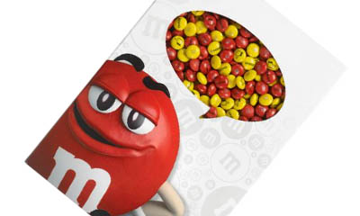 Win an M&M's Gift Box & Red Mug