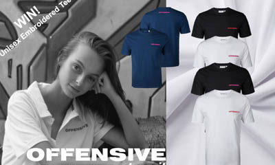 Win Offensive Fashion Unisex Embroidered T-Shirts