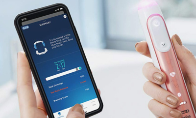 Oral-B Toothbrush with Feedback App