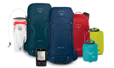 Win a £1,000 Osprey Hiking & Camping Bundle