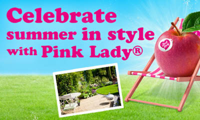 Free Pink Lady Deck Chair