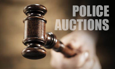Almost Free Items from Police Auctions