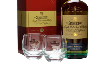 Win a Singleton Whisky Tumbler Set