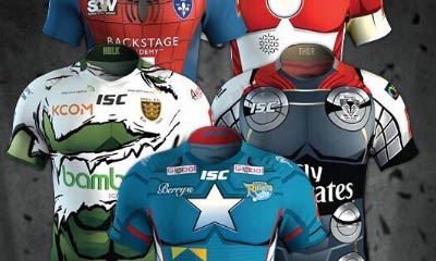 Free Signed Super League Shirts