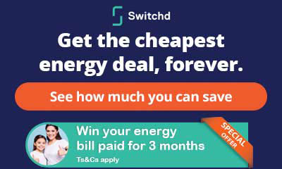 Win your Energy Bills Paid for 3 Months