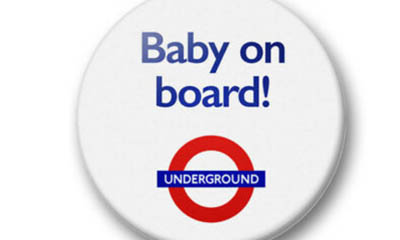 Free TFL Baby On Board Badges