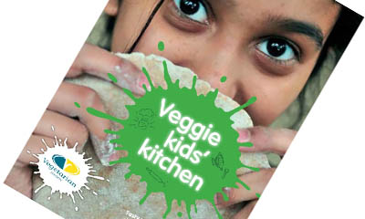 Free Veggie Kids' Kitchen Cookbook