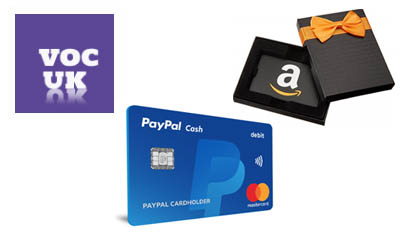 Free Amazon Gift Cards & Paypal Money