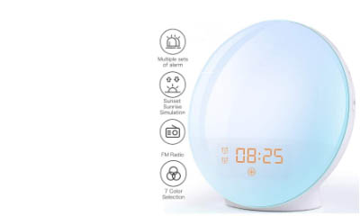 Free Wake Up Light Alarm Clock
