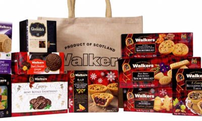 Win Shortbread Biscuit Hamper from Walkers