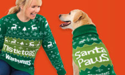Free Christmas Jumper for you and Your Dog