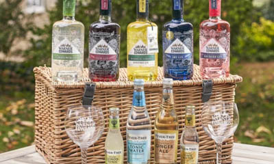 Win 1 of 5 Warner's Gin Hamper