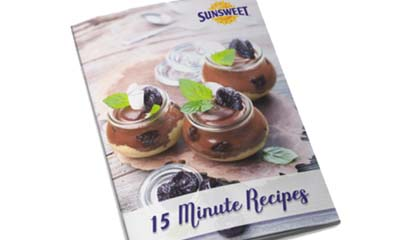 Free 15 Minute Recipe Booklet