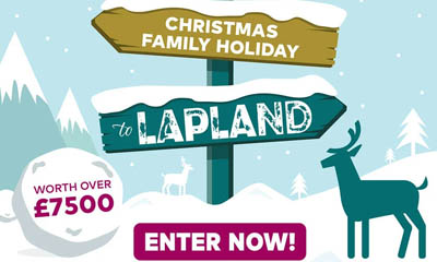 Win a Family Holiday to Lapland this Christmas