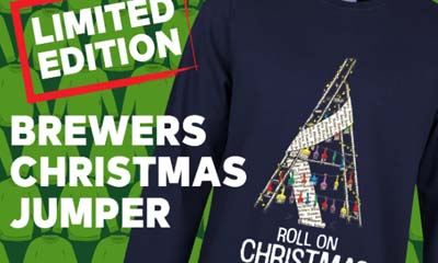 Free Christmas Jumper from Brewers