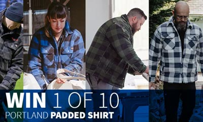 Win a Portland Padded Shirt from Dickies