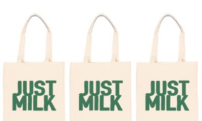 Free Cotton Tote Bags from Just Milk