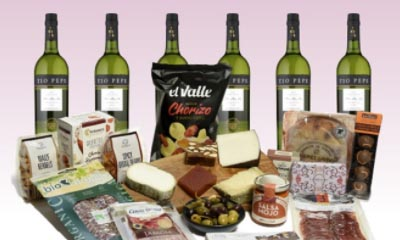 Win a Spanish Tapas Food & Sherry Hamper