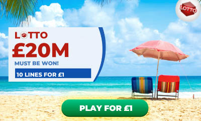 National Lottery - 10 Tickets for £1