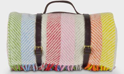 Free Colourful Picnic Blankets