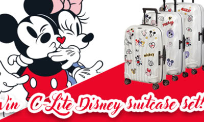 Win a Disney Suitcase Set from Samsonite
