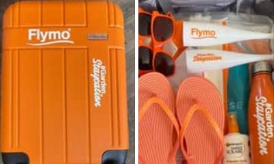 Free Flymo Suitcase & Staycation Bundle